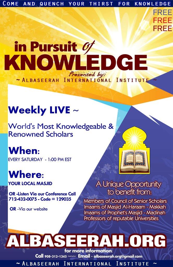 Live Lectures of Scholars